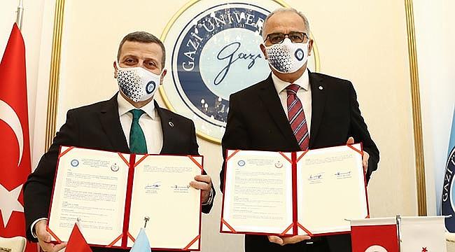 TVF ile Gazi Üniversitesi Arasında İşbirliği Protokolü İmzalandı