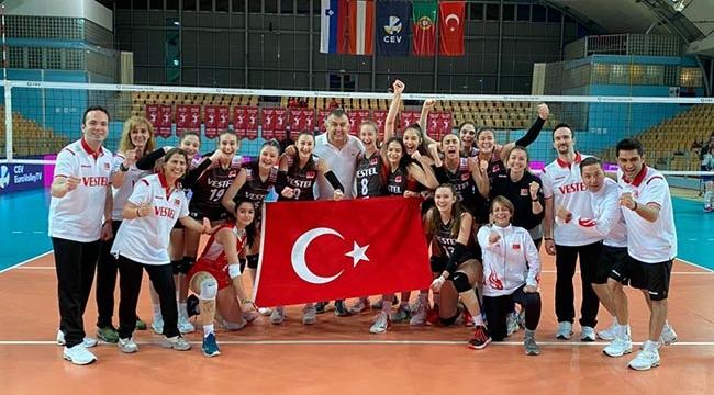 16 Yaş Altı Kız Millilerimiz Avrupa Şampiyonası'nda