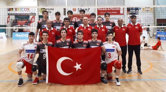 17 Yaş Altı Erkek Millilerimiz Avrupa Şampiyonası'nda
