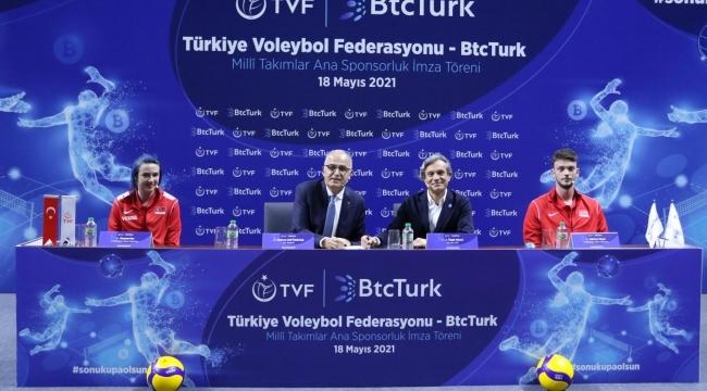 BtcTurk Voleybol Milli Takımlar Ana Sponsoru oldu