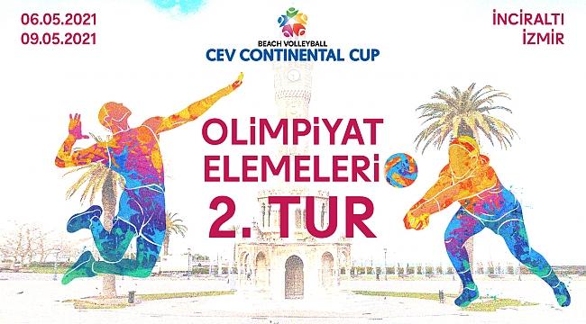 CEV Plaj Voleybolu Continental Cup 2. turu başlıyor