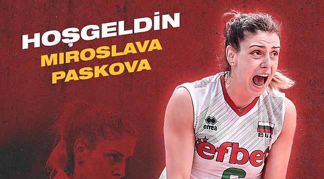 Miroslava Paskova, Mert Grup Sigorta'da