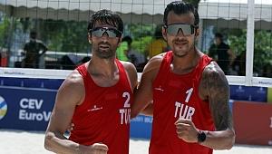 Plaj voleybolunda milli takım final oynayacak