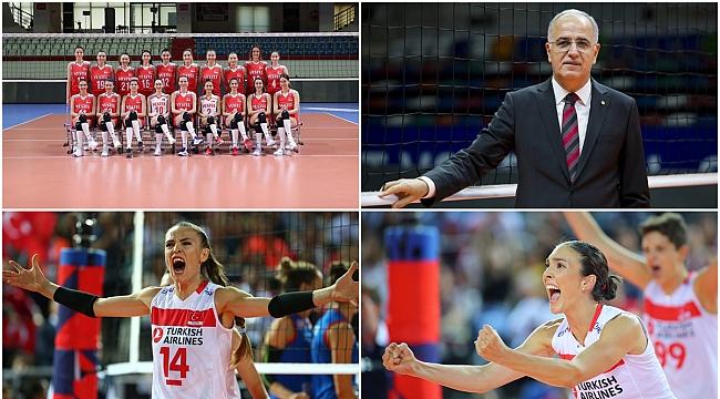 'Türk Voleybolu' 5 Dalda Ödüle Aday