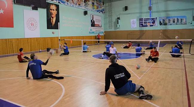Oturarak Voleybol Milli Takımı'nda hedef Avrupa şampiyonluğu