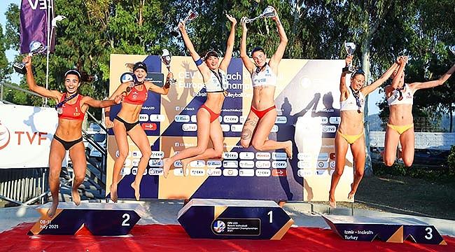 2021 CEV U20 Plaj Voleybolu Avrupa Şampiyonası Sona Erdi
