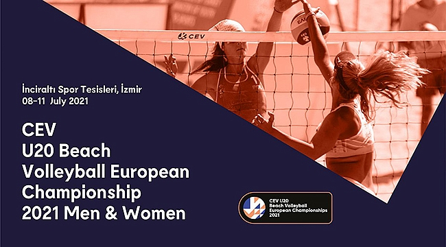 CEV U20 Plaj Voleybolu Avrupa Şampiyonası İzmir'de Başlıyor