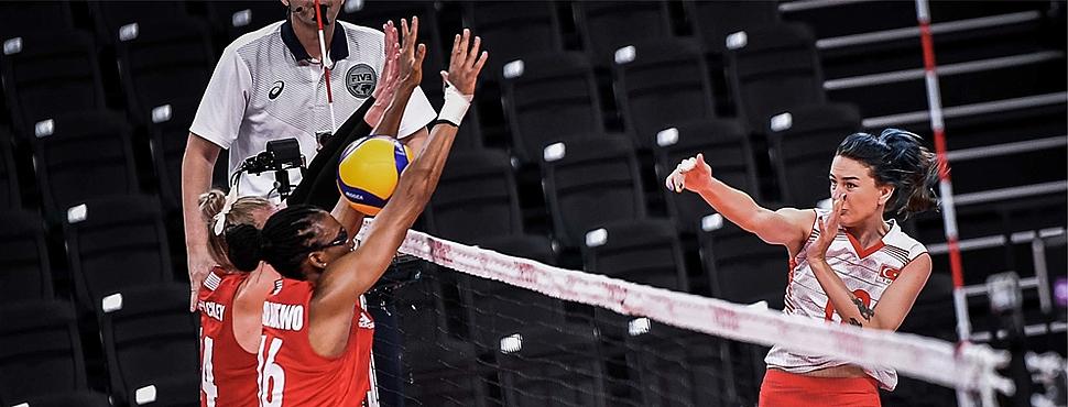 Filenin Sultanları, Tokyo 2020'de üçüncü maçında kaybetti