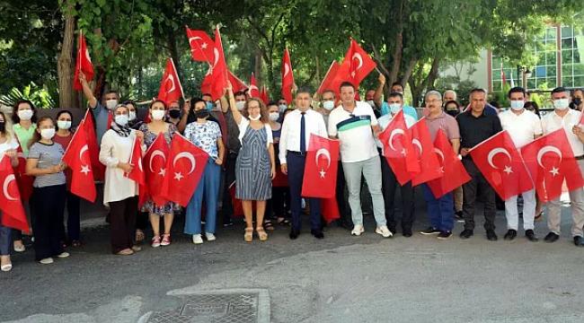 İzmir'de Tokyo Olimpiyatları coşkusu