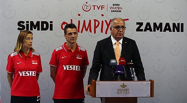 TVF Başkanı Üstündağ: Şimdi voleybol, olimpiyat zamanı