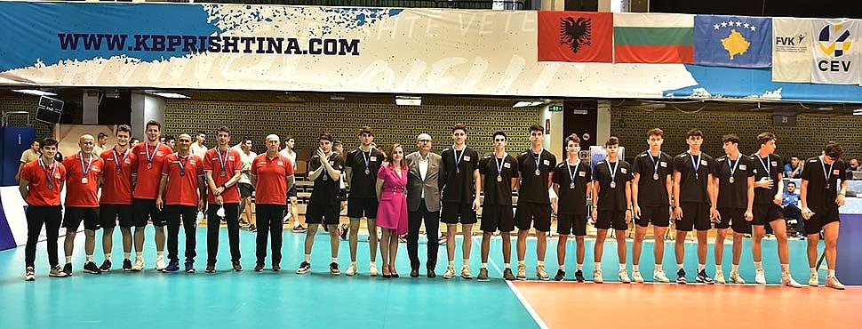 U18 Erkek Milli Takımımız, Gümüş Madalya ile Dönüyor