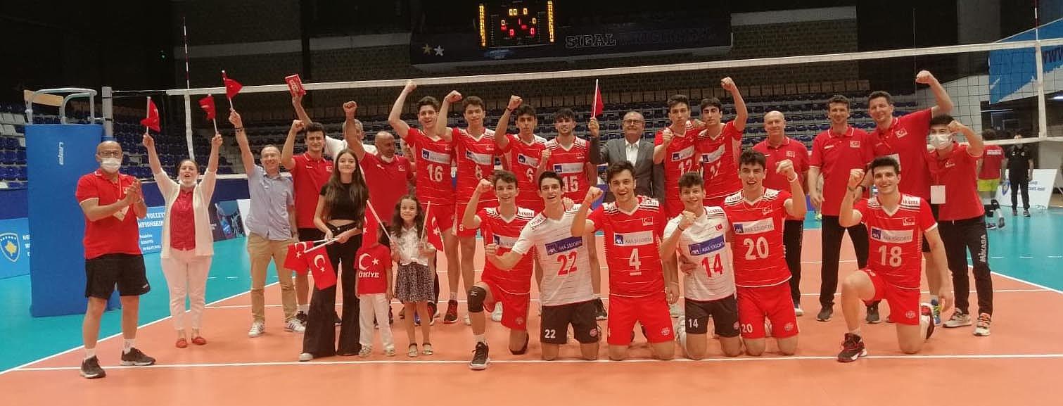 U18 Erkek Milli Takımımız, U20 Balkan Şampiyonası'na Galibiyetle Başladı