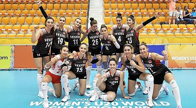 U20 Kız Milli Takımımız, 9./10.'luk Klasman Maçı Oynayacak
