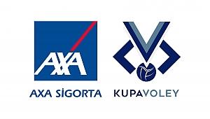 Axa Sigorta Kupa Voley'de Grup Maçları Belli Oldu