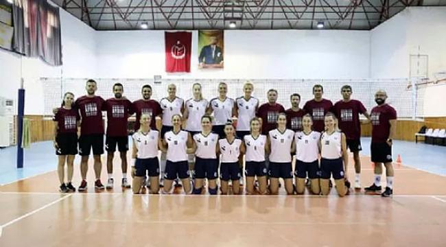 Aydın Büyükşehir Belediyespor, sahaya indi