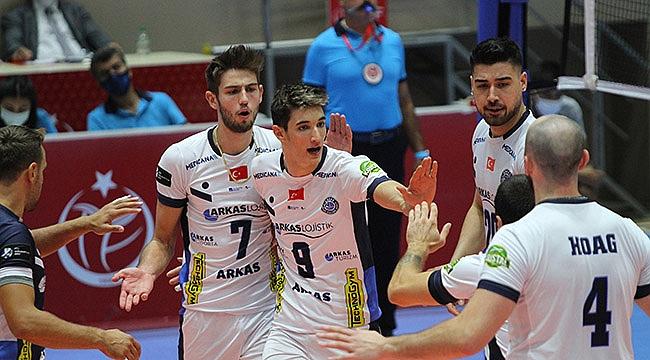 Arkas Spor, Bursa BBSK'yı mağlup etti