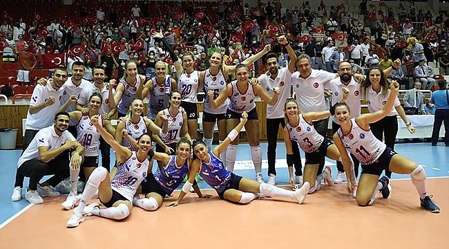 Aydın BBSK, Namağlup Balkan Kupası Şampiyonu
