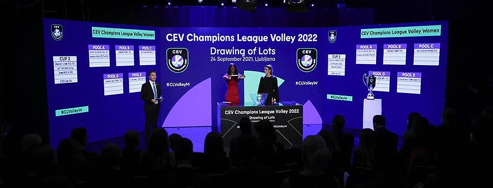CEV Şampiyonlar Ligi'nde rakipler belli oldu