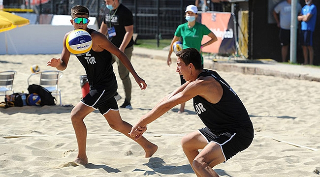 Sacit ve Ahmet Can İkilisi, U18 Avrupa Şampiyonası'na Veda Etti