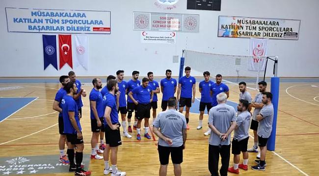 Sorgun Belediyespor, Kupa Voley maçlarına hazırlanıyor