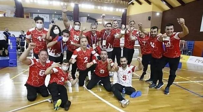 Türkiye, ParaVolley Avrupa Milletler Gümüş Ligi'nde bronz madalya kazandı