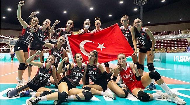 U18 Kız Milli Takımımız, Dünya Şampiyonası'nda 2'de 2 Yaptı