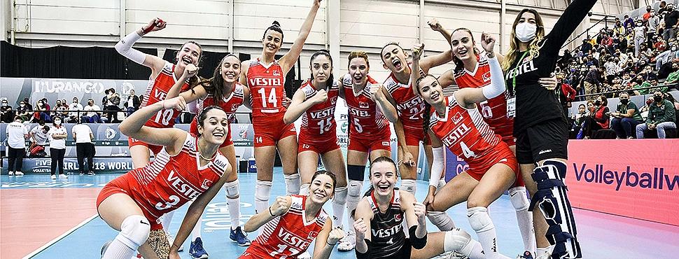 U18 Kız Milli Takımımız, Dünya Şampiyonası'nda Çeyrek Finalde