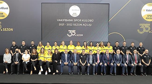VakıfBank'ta 35'inci sezonun açılışı yapıldı