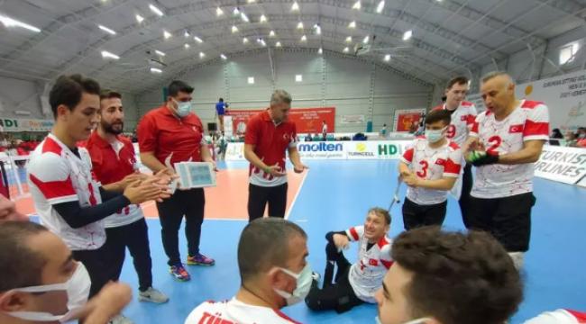 Avrupa Oturarak Voleybol Şampiyonası'nda 2. gün sona erdi