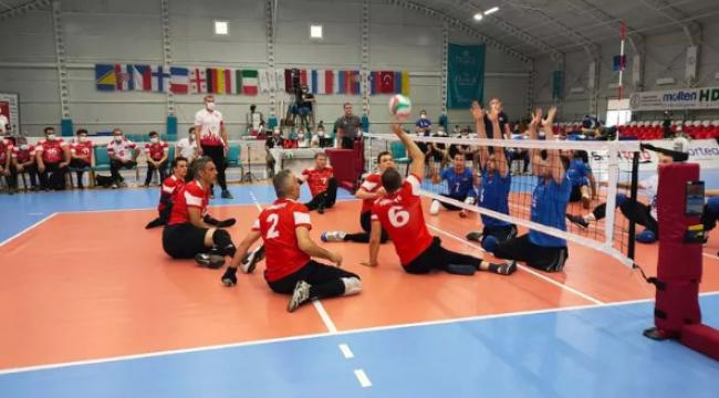 Avrupa Oturarak Voleybol Şampiyonası'nda 3. gün tamamlandı