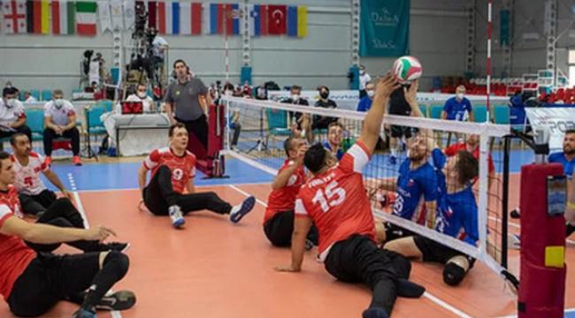 Avrupa Oturarak Voleybol Şampiyonası'nda kazananlar belli oldu
