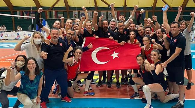 İşitme Engelliler Kadın Voleybol Milli Takımı, Dünya Şampiyonu!