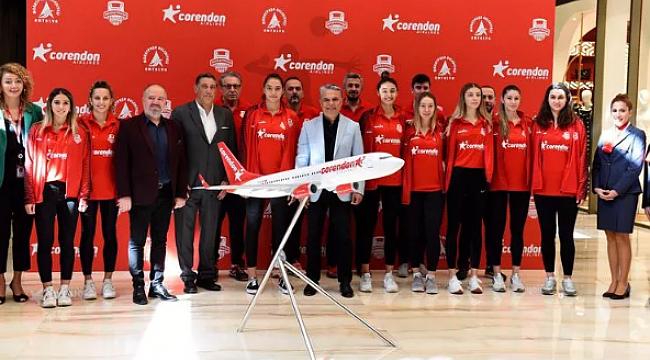Muratpaşa Belediyesi, Corendon Airlines ile uçacak!