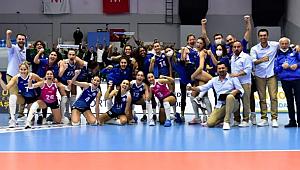 Sarıyer Belediyespor, Karayolları'nı 5. sette geçti